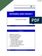 T565 - MS Project 2016 - Definirea Unui Proiect