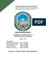 UNIVERSIDAD NACIONAL DEL CALLAO  informe de  labo   circuitos 1.docx