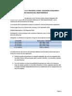 Reglamento III Travesía Solidaria Aliquindoi 2019