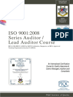Iso 90012008 Qms Auditor Lead Auditor