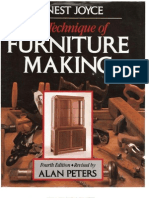 23251749 the Technique of Furniture Making
