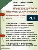 FUNÇÕES DO 1º GRAU OU AFIM.ppt