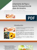 Comportamiento de Flujo y Caracterización Fisicoquímica de Pulpas