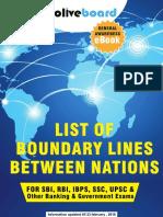 Boundaries Between Nations