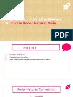 Pin Fin Analysis