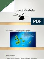 El Proyecto Isabela
