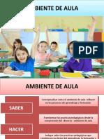 AMBIENTE EN EL AULA.pptx