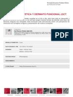 cronograma de estudios de fisioterapia dermotofuncional