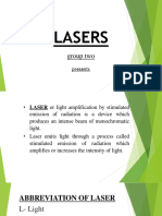 Laser Group 2 Presentation