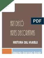 Historia Del Mueble Art-Deco