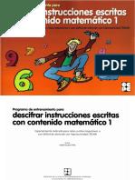 Instrucciones Escritas - c Matemático