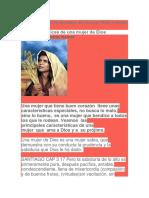 12 características de una mujer de Dios por Willy y Karina Hamel.docx