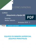 Maquinaria y Equipo Minero - Tema2
