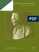 Alberg, Jeremiah - A Reinterpretation of Rousseau. A Religious System.pdf