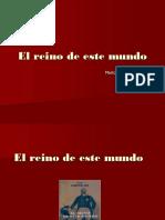 EL REINO DE ESTE MUNDO