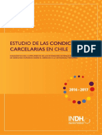 Estudio de Condiciones Carcelarias de Chile
