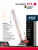 Manitowoc 111 80 Product Guide