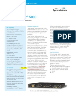 TP5000 Supporting Document