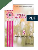 GAZETA MATEMATICA Seria B N0 3/2019