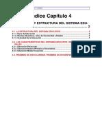 Estructura de Sistema Edcativo Nacional