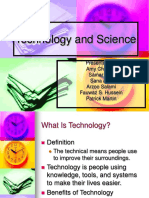 Power point presentation on science and technology