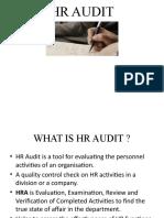 HR AUDIT