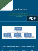 Aspen Reactor