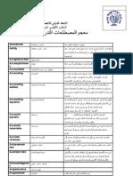 معجم المصطلحات التدريبية و الإدارية