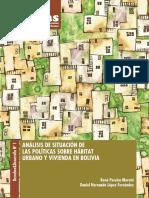 Bolivia, Analisis de la Situación de las políticas sobre hábitat urbano y vivienda en Bolivia, 2018.pdf