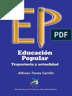 educacion popular. Trayectoria y actualidad.pdf