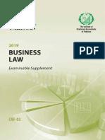 CAF3-BusinessLaw-ExamSupplement