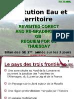 Eau Et Territoire Le Pays Des Trois Frontieres Diapo Final CORRIGE ET NOTES