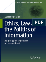 [The International Library of Ethics Law and Technology volume 18] Durante, Massimo - Ethics, Law and the Politics of Information _ a Guide to the Philosophy of Luciano Floridi (2017).pdf