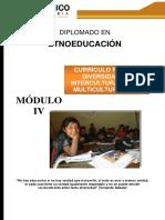 Guía Didáctica 4 Currículo Para La Diversidad, La Interculturalidad y Multiculturalidad