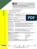 Membrana Impermeable Monocomponente 100 Poliuretano Ficha Tecnica