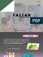 taller como tecnica de enseñanza