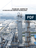 Filling the Propylene Gap on Purpose Technologies