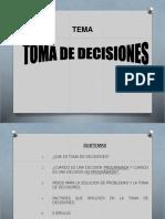 7 Toma de Decisiones