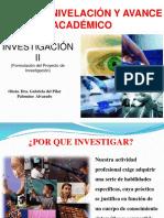 GENERALIDADES INVESTIGACION CIENTIFICA PROYECTO Y TESIS 1era clase.ppt