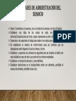Act. de Administracion Del Negocio