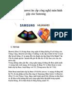 Tập Đoàn Huawei Ăn Cắp Công Nghệ Màn Hình Xếp Của Samsung