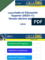 Presentación de Programa Desv17