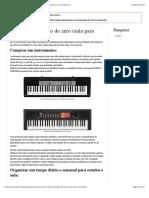 Aprenda como tocar teclado do zero (Aula para iniciantes) | Teoria Musical
