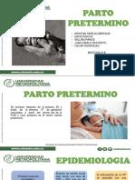 Exposicion de Parto Pretermino y Postermino