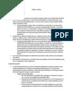 Public Law Notes