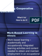 Cooperative Education Part One