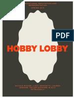 Hobby Lobby Final Portfolio