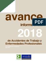 000-Vance Informe Estadistico de Siniestralidad Laboral Asturias Ao 2018