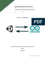 Unity Arduino