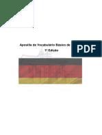 Apostila de Vocabulário Básico de Alemão